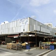 Békásmegyeri Vásárcsarnok: a régi csarnoképület (Fotó: MTI - Bruzák Noémi)