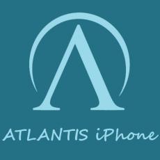 ATLANTIS iPhone szerviz logo