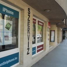 Atlantis Notebook, iPhone és Samsung telefon szerviz utcakép
