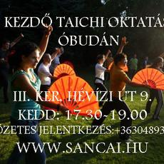 Taichi oktatás Óbudán