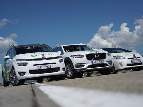 A környéken is lehetett már találkozni az autóikkal (forrás: aimotive.com)