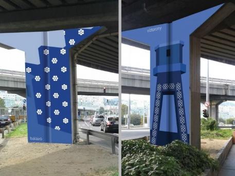 Az első terv (Fotó: önkormányzati portál)