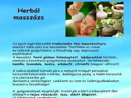 Herbál masszázs