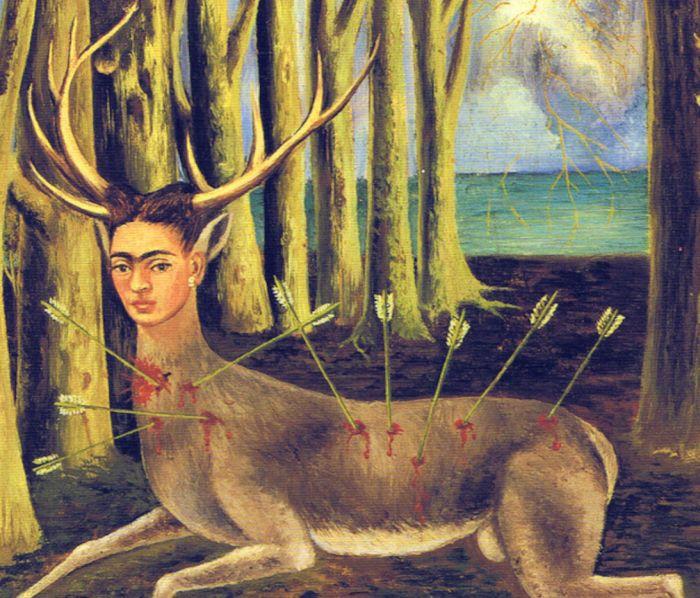 Frida Kahlo: A megsebzett szarvas