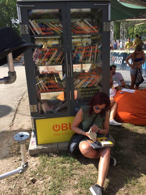 KönyvMegálló a tavalyi Szigeten (forrás: obuda.hu)