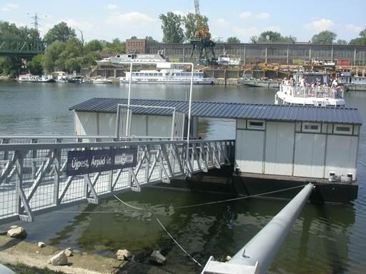 Felújítják a kikötőt (fotó: BKV)